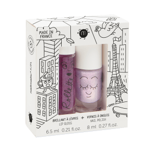 esmalte al agua y gloss natural Nailmatic Kids