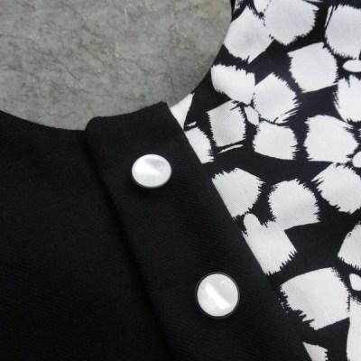 Robe réversible Quatuor Mon Petit Vestiaire, côté face