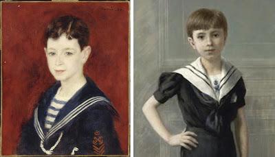 Portrait d'Auguste Renoir en 1880