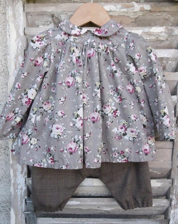 Blouse Alma et pantalon court Richerand Mon Petit Vestiaire