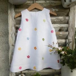 Robe Blanche Mon Petit Vestiaire