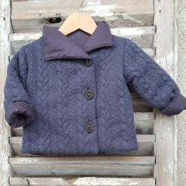 Manteau bébé : le manteau Encre Mon Petit Vestiaire