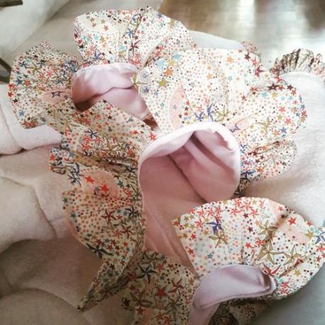 Boréal, sweat à col Pierrot pour bébé Mon Petit Vestiaire