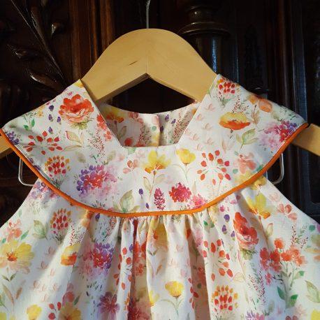 Robe fleurie pour bébé et petite fille Mon Petit Vestiaire