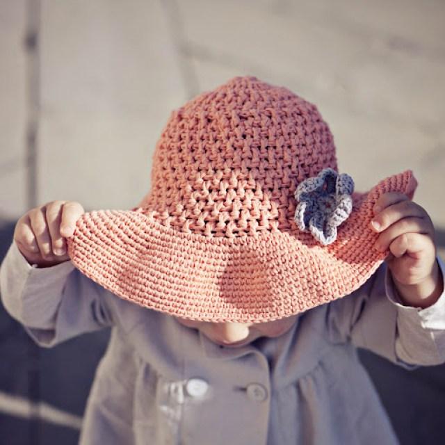 New Pattern Floppy Sun Hat Mon Petit Violon