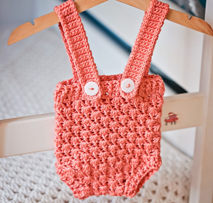 New pattern – Baby Shorts with Suspenders