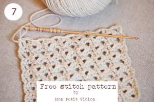 Free-stitch-pattern