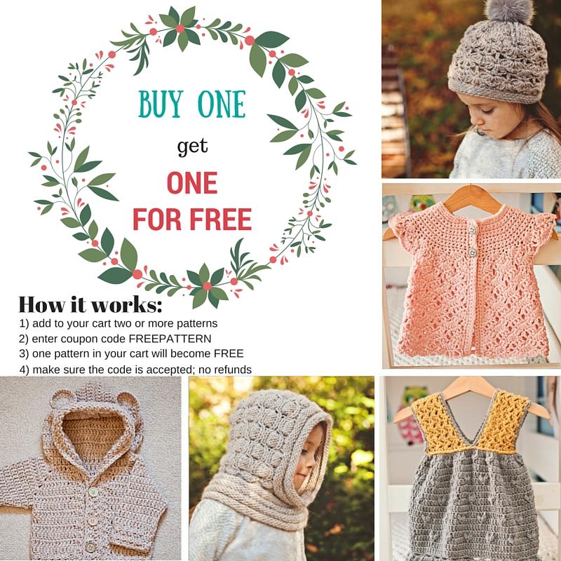 Get one FREE pattern (1)