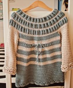 Amelia Dress, crochet pattern by Mon Petit Violon