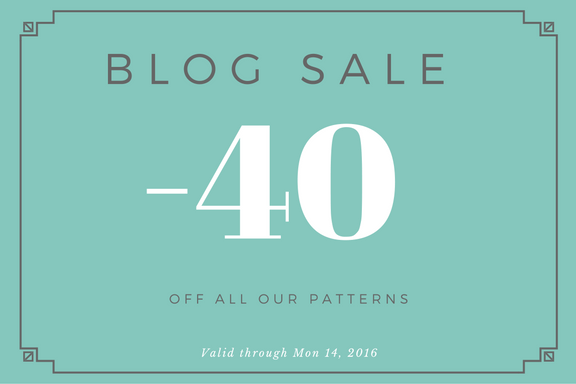 Blog Sale – this weekend 40% off!