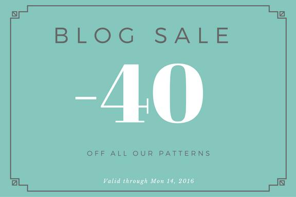 Blog Sale – this weekend 40% off!