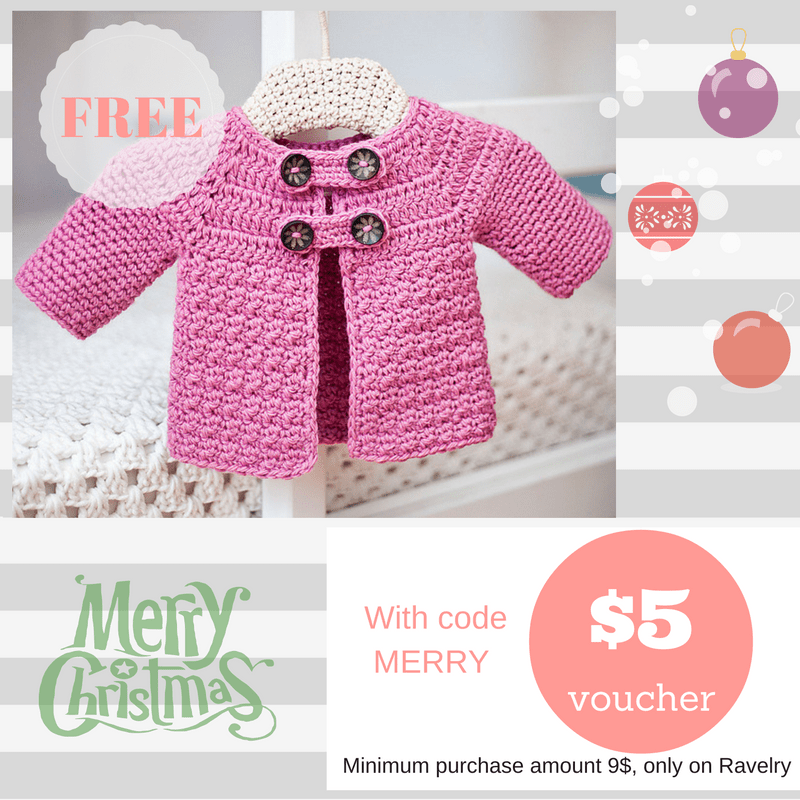 Free Buttoned Jacket pattern and 5$ gift voucher!