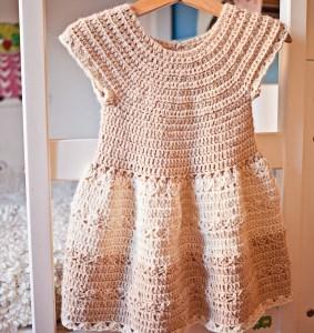 Darling Dress, crochet pattern by Mon Petit Violon