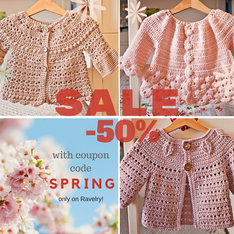 New pattern and 50% off SALE!