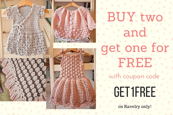 New Dress pattern and Buy Two get One for FREE offer!