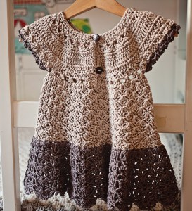 Pima Cotton Dress, crochet pattern by Mon Petit Violon