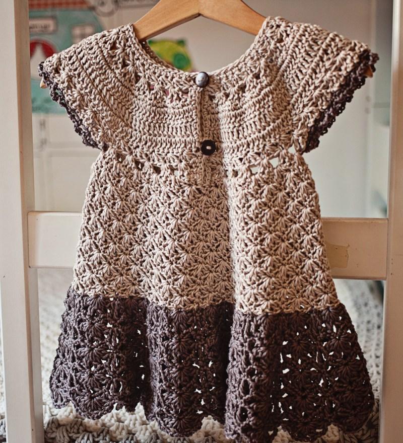 Pima Cotton Dress, crochet pattern by Mon Petit Violon
