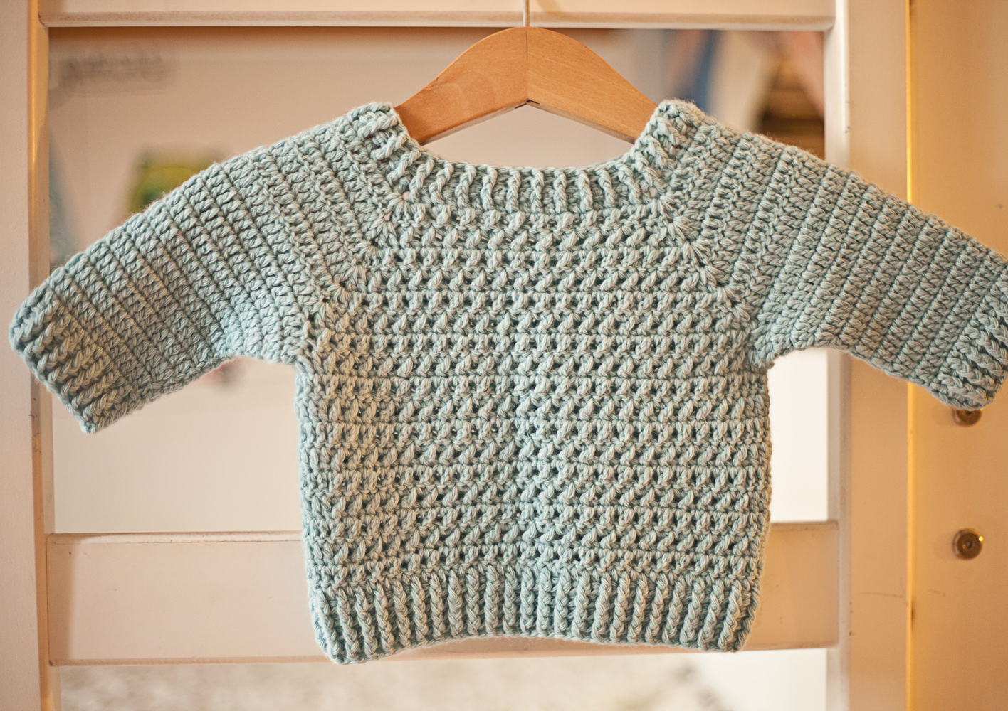 Crochet for boys? Check out our new sweater pattern!