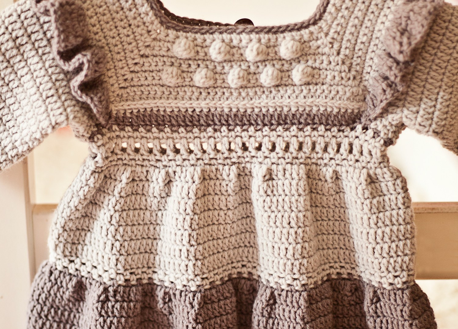 New dress pattern – Heather Tiered Dress with Frills