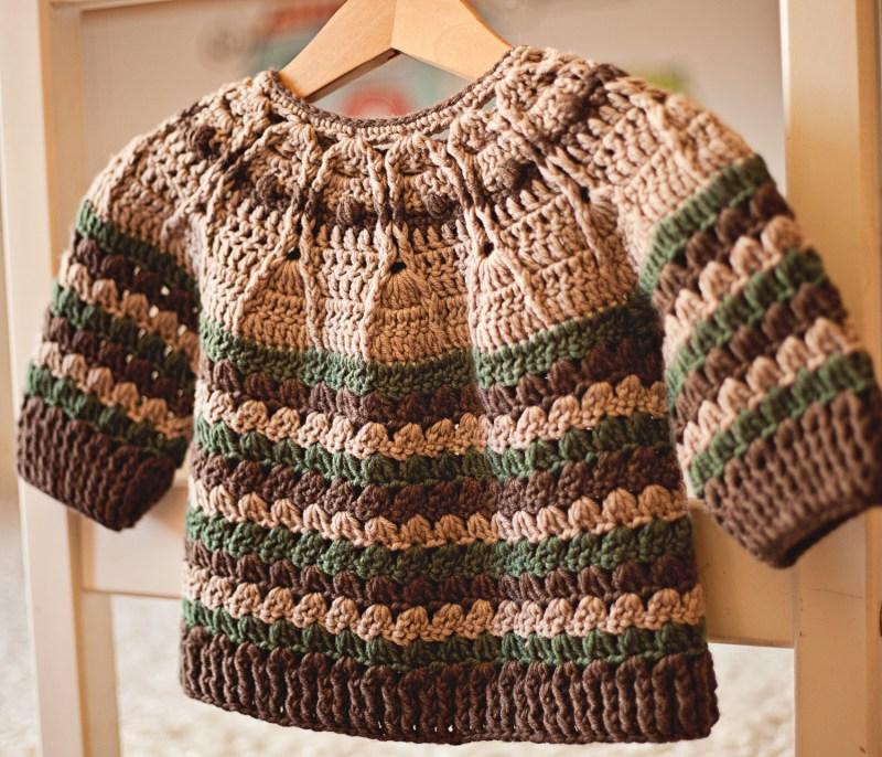 Milla Cardigan, crochet pattern by Mon Petit Violon