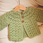 Beautiful crochet cardigan for you ladies!