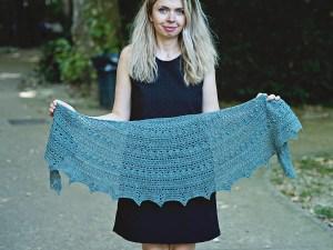 Infinity Shawl - crochet pattern by Mon Petit Violon