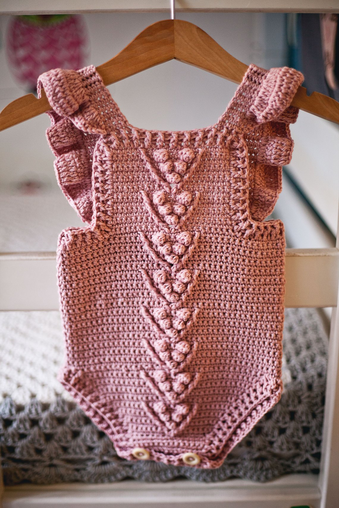 Berry Romper, crochet pattern by Mon Petit Violon