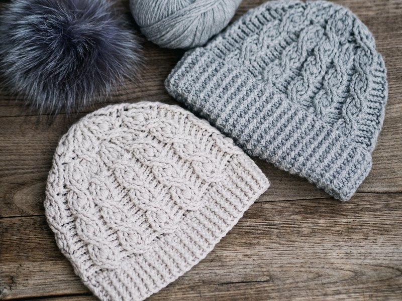 Favorite Cable Hat, crochet pattern by Mon Petit Violon