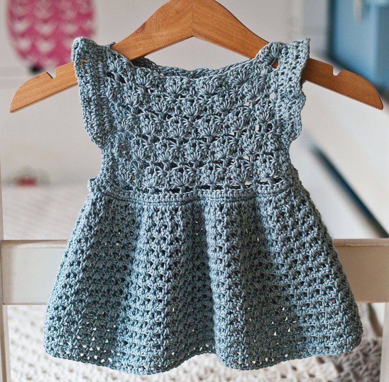 Chloe Dress, crochet pattern by Mon Petit Violon