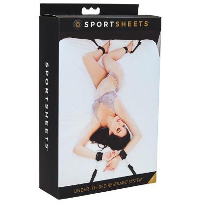 Under the Bed Restraint System - Système d'Attaches de Lit - Sportsheets