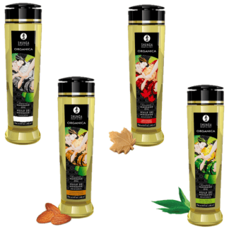 Huile de Massage Délectable Organica - Shunga