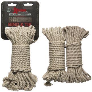 Corde en Chanvre - Hogtied - Bind & Tie - Kink.com - Doc Jonhson - Mtl