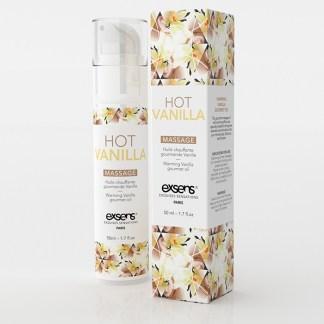 Vanille Chaude - Huile de massage Chauffante Gourmande - Exsens - Qc