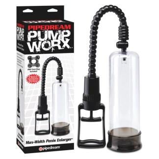 Max-Width Penis Enlarger - Pump Worx - Agrandisseur de pénis - Pompe