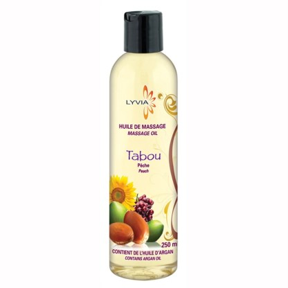 Lyvia - Huile de massage - Tabou