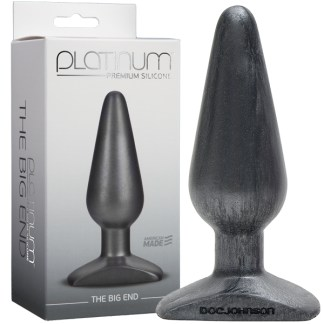 The Big End - Platinum Premium Silicone - Plug Anale - Doc Jonhson