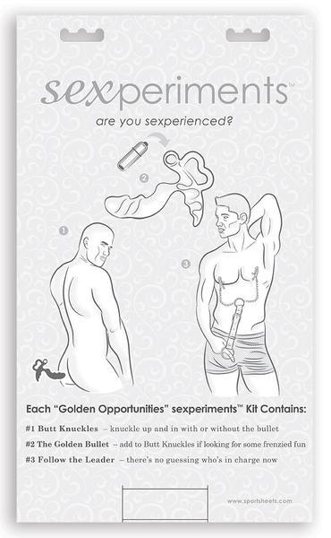 Golden Opportunities - Sexperiments - Sportsheets