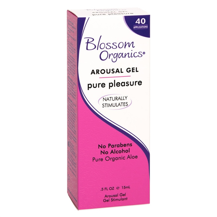 Arousal Gel Pure Pleasure - Gel Clitoridien - Blossom Organics