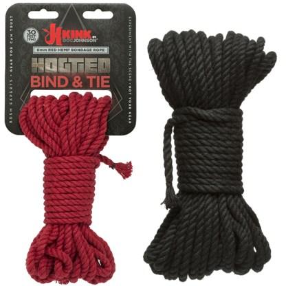 Hogtied - Color Bind & Tie - Kink.com - Corde en Chanvre - Doc Jonhson