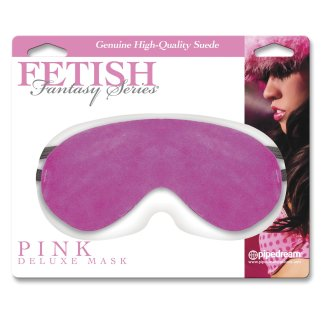 Pink Deluxe Mask - Cache-Yeux - Fetish Fantasy Series