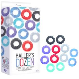 Ballers Dozen - Ensemble d'Anneaux Péniens - Icon Brands