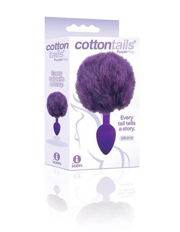 Cottontails - Plug Anale avec Queue de Lapin - Icon Brands