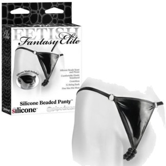 Silicone Beaded Panty - Culotte avec Perles - Fetish Fantasy Elite