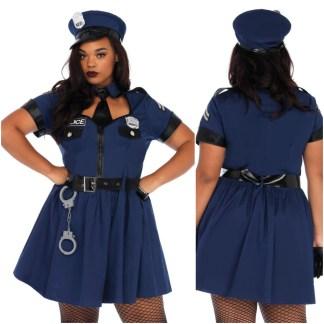 Flirty Cop - 86681X - Grande Taille - Leg Avenue