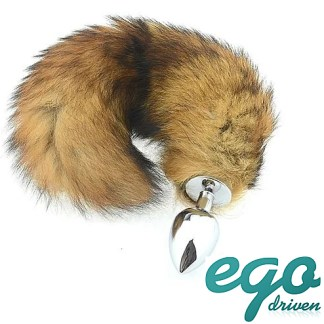 Fox Tail Butt Plug - Queue de Renard - Ego Driven