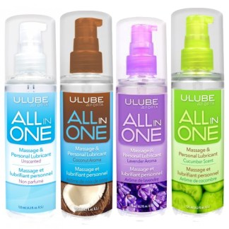 All In One - Massage et Lubrifiant Personnel - U Lube