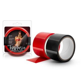 Bondage Tape 60ft - Temptasia - Ruban de Bondage - Blush