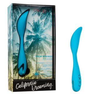 Palm Springs Pleaser - Vibrateur Rechargeable Multidirectionnel - California Exotics