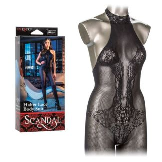 Halter Lace Body Suit - Scandal
