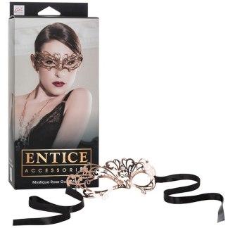 Mystique Rose Gold Mask - Entice Accessories - Masque - California Exotics